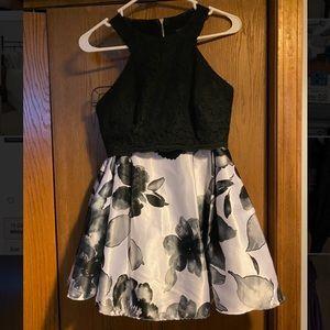 Blondie Nites 2 Piece Homecoming Dress